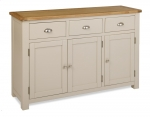 Portland Stone 3 Door 3 Drawer Sideboard