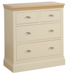 Lundy 2 over 2 Chest with Jumper Drawers