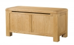 Avon Oak Blanket Box