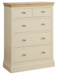 Lundy 2 over 3 Chest with Jumper Drawers