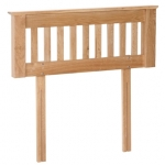 New Oak 6  headboard