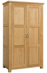 Siena Oak Double Wardrobe