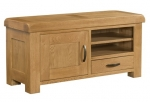 Clovelly Oak Large TV Unit