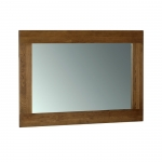 Rustic Oak Wall Mirror 1300 x 900