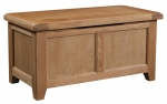 Suffolk Oak blanket box