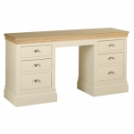 Lundy Double Pedestal Dressing Table