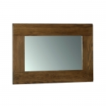 Rustic Oak Wall Mirror 900 x 600