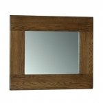 Rustic Oak Wall Mirror 750 x 600
