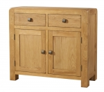 Avon Oak 2 Door 2 Drawer Sideboard