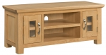 Siena Oak Large TV Unit