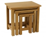 Lincoln Oak nest of tables