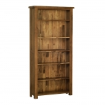 Rustic Oak 6  Bookcase