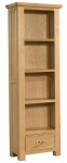 Siena Oak Bookcase with Drawer