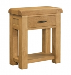 Clovelly Oak 1 Drawer Console Table