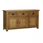The Rustic Oak Large Sideboard