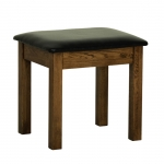 Rustic Oak Bedroom Stool