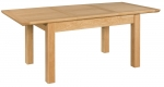 Siena Oak 1.4m Extending Dining Table