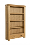 Clovelly Oak Large Bookcase