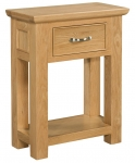 Siena Oak Small Console Table