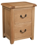 Suffolk Oak filing cabinet