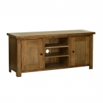 Thumbnail Rustic Oak Large TV Cabinet