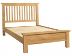 Siena Oak Double Bed