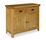 North Bay Oak 2 Door 2 Drawer Sideboard