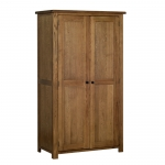 Rustic Oak All Hanging Ladies Wardrobe
