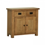 Rustic Oak Small Sideboard