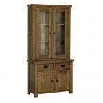 Rustic Oak 3  Glazed Dresser