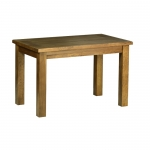 Rustic Oak 4  x 2 6  Fixed Top Table