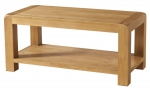 Avon Oak Coffee Table with Shelf