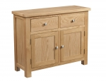 Dorset Oak 2 Door 2 Drawer Sideboard