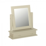 Lundy Single Dressing Table Mirror with Drawer