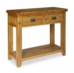 North Bay Oak Console Table
