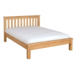 Chunky Pine 5  bed - Low Footboard