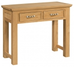 Siena Oak 2 Drawer Console Table