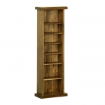 The Rustic Oak CD / DVD Rack