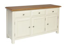 Cotswold Painted 3 Door Sideboard