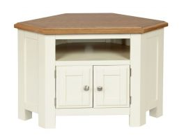 Thumbnail Cotswold Painted Corner TV Cabinet