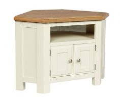 Cotswold Painted Corner TV Cabinet