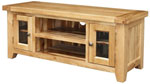 Chunky Oak Large TV Cabinet