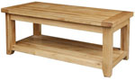Chunky Oak Large Coffee Table