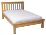 Chunky Pine 4 6  bed - Low Footboard