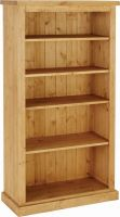 Chunky Pine 5  bookcase