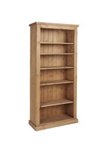 Chunky Pine 6  bookcase