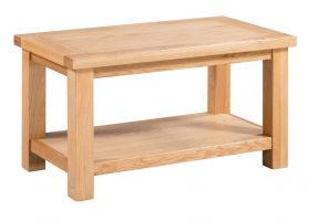 Thumbnail Dorset Oak Small Coffee Table with Shelf