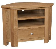 Dorset Oak Corner TV Unit
