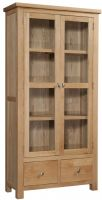 Dorset Oak Display Cabinet
