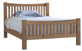 Dorset Oak Double Bed